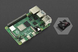 Raspberry Pi 4 Model B - 8GB with Metal Case (Dual fans)