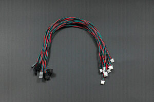Gravity: Digital Sensor Cable for Arduino - 30cm (10 Pack)