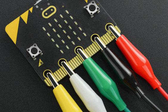 Alligator Clip Test Cables (10 PCS Pack)