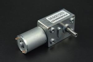 Turbo Metal Gear Worm Motor (6V 160RPM 2.8kg/cm)