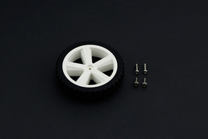 D80mm Silicone Wheel For TT Motor