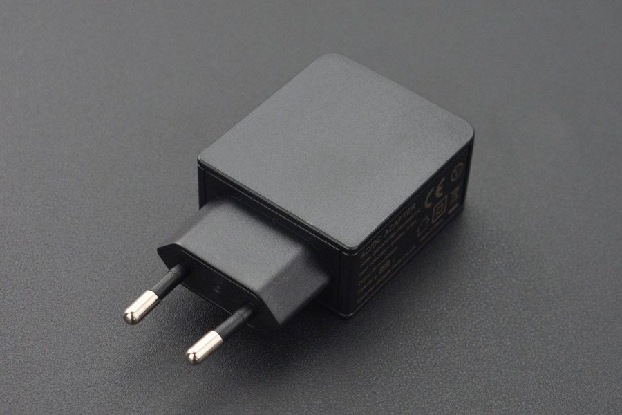 USB Power Supply Wall Adapter 5V@2.5A (EU Standard)(Discontinued)