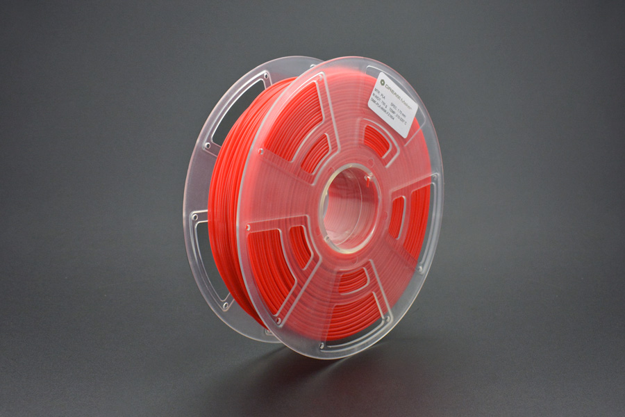 "1.75mm (0.07"") PLA (750g) – Red"