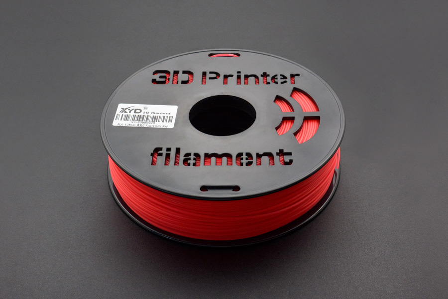 1.75mm-PLA-Fluorescent Red (1kg) (Discontinued)