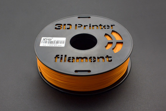 1.75mm-PLA-Gold (1kg) (Discontinued)