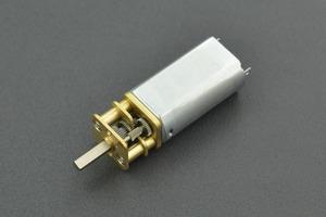 Mini Metal DC Geared Motor (6V 375RPM 0.5Kg*cm)