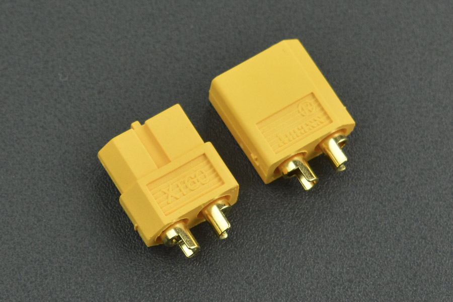 High Quality Gold Plated XT60 Male & Female Bullet Connector