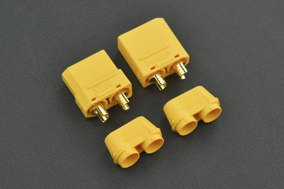 High Quality Gold Plated XT90 Male & Female Bullet Connector