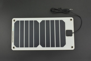 Semi Flexible Monocrystalline Solar Panel (5V 1A)