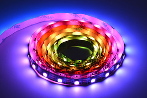 Digital RGB LED Strip 120 LED-Black