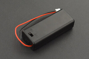 2xAAA Battery Holder(with Cover and Power Switch)