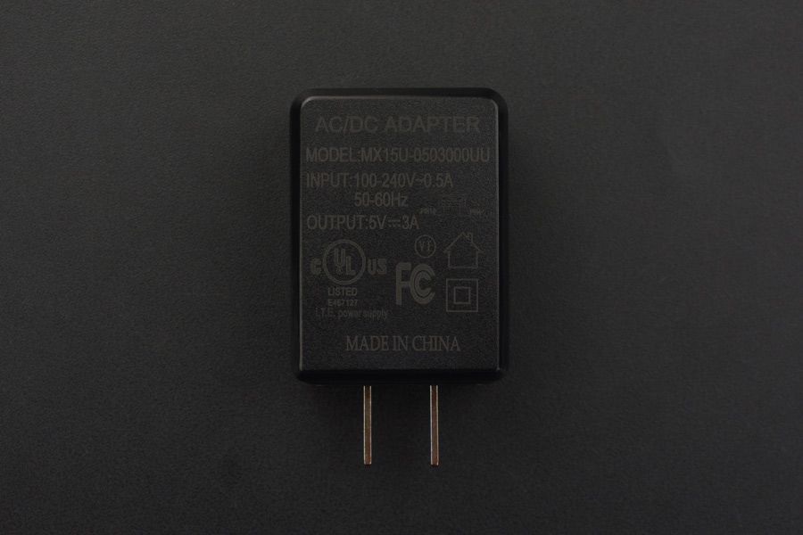 5V@3A USB Power Supply (US Standard)