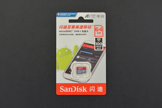 MicroSD Memory Card 64GB Class10 100MB/S
