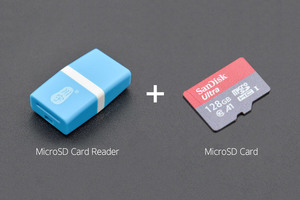 MicroSD Memory Card 128GB Class10 with Card Reader