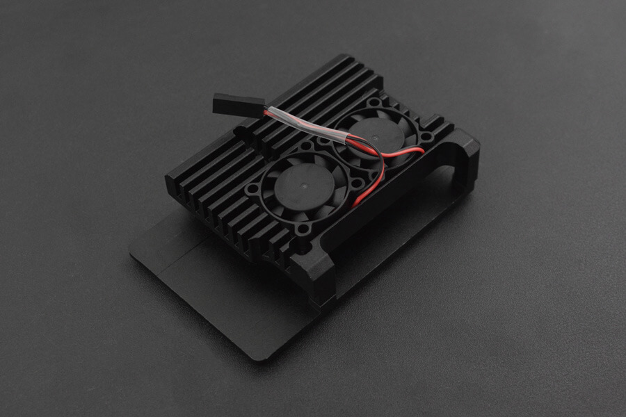 Metal Case for Raspberry Pi 4B (Dual fans)
