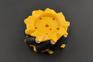 Mecanum Wheel (80mm) - Left