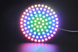 93 LEDs WS2812B RGB 6 Ring Lamp