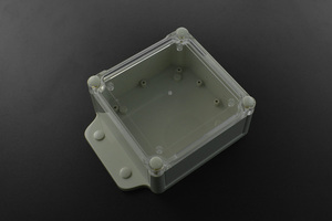 Plastic Project Box Enclosure Waterproof Clear Cover - 6.61x4.72x 2.17 inch