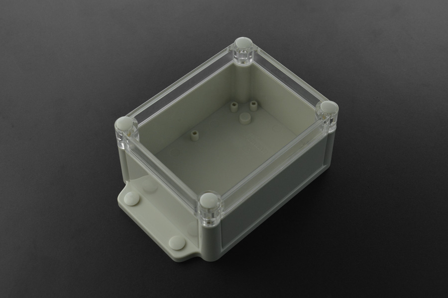 Plastic Project Box Enclosure Waterproof Clear Cover - 5.83 x 3.70 x 2.36 inch