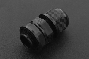 Waterproof Cable Gland PG-7 Size (Black)