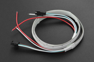 5V RGB Programmable LED Strip (50cm)