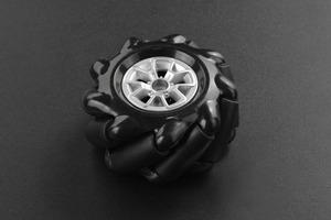 Black Mecanum Wheel (60mm) - Left