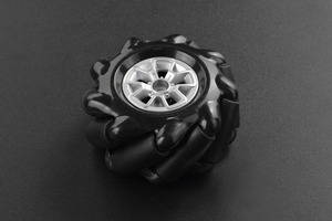 Black Mecanum Wheel (60mm) - Right