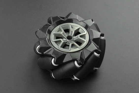 Black Mecanum Wheel (97mm) - Left