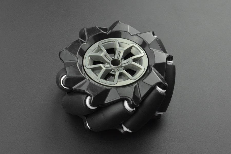 Black Mecanum Wheel (97mm) - Right