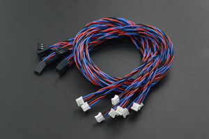 Gravity: Analog Sensor Cable for Arduino - 50cm (10 Pack)