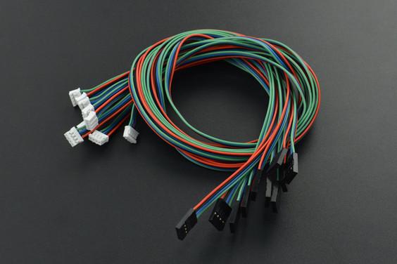 Gravity: 4Pin I2C/UART Sensor Cable for Arduino - 50cm (10 Pack)