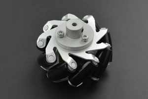 Metal Mecanum Wheel with Motor Shaft Coupling (65mm) - Right