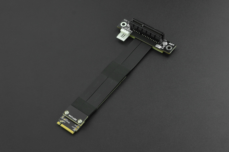 R42SR M.2 Key-M PCI-E x4 Extension Cord for LattePanda Alpha & Delta