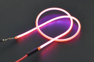 3V 260mm Flexible LED Filament Chip (Pink)