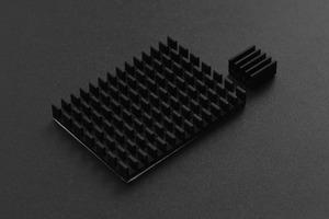 Black Aluminum HeatsinkKit for RaspberryPi4B