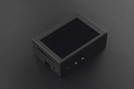 """Raspberry Pi 4 Metal Case with 3.5"""" 480x320 TFT Touch Screen"""