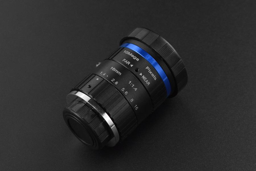 16mm 10MP Telephoto Lens for Raspberry Pi & Jetson Nano Camera Module
