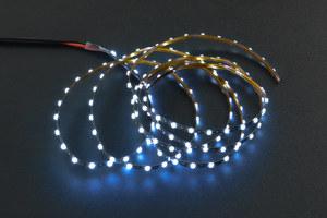 3V Flexible LED Strip (138 LEDs) - White