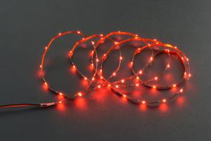 5V Flexible LED Strip (60 LEDs) - Red