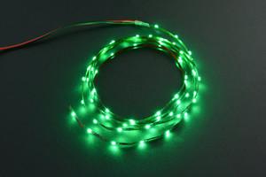 5V Flexible LED Strip (60 LEDs) - Green