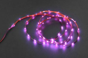 5V Flexible LED Strip (60 LEDs) - Purple