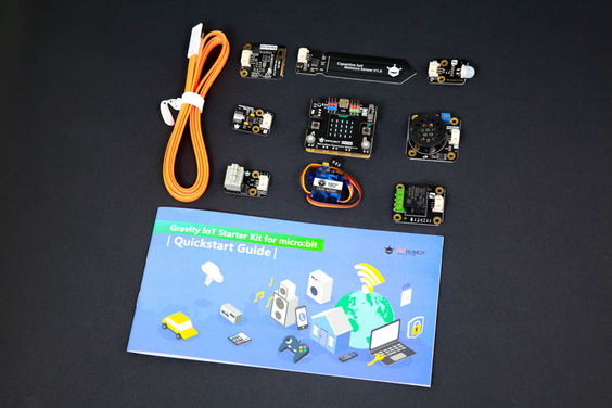 Gravity: IoT Starter Kit for micro:bit