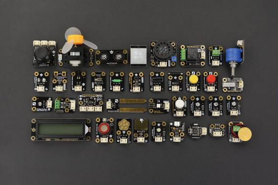 Gravity: 37 PCS Sensor Set for Arduino (Compatible with Raspberry Pi)