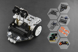 micro:Maqueen Plus with Mechanic, micro:bit and Gamepad