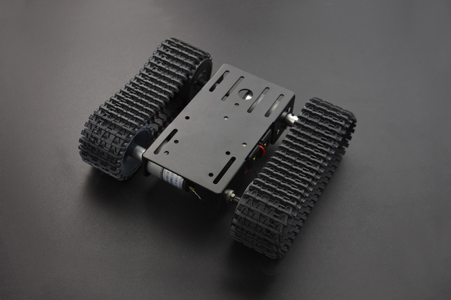 Black Gladiator - Tracked Robot Chassis