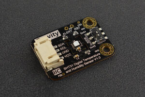 Gravity: SHT31-F Digital Temperature and Humidity Sensor