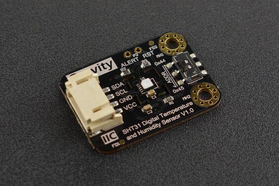 Gravity: SHT31-F Digital Temperature and Humidity Sensor