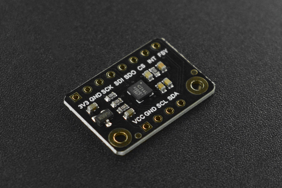 Fermion: ICG 20660L Accel+Gyro 6-Axis IMU Module (Breakout)