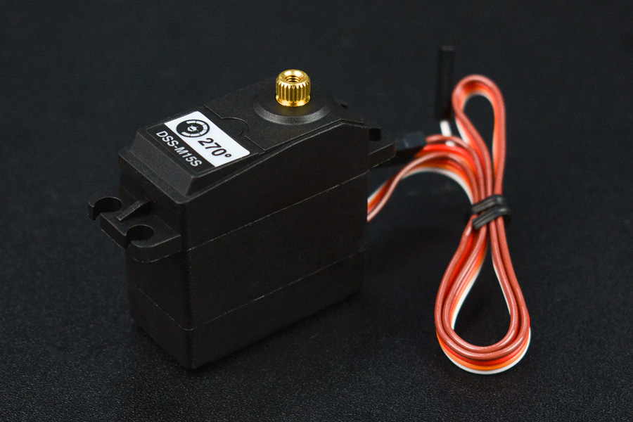DSS-M15S 270° 15KG DF Metal Servo with Analog Feedback