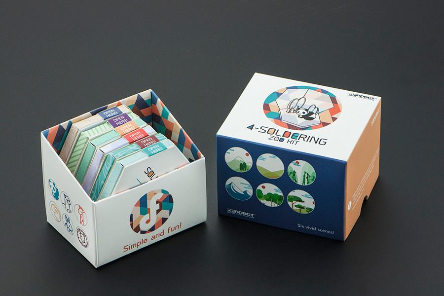 4-Soldering Zoo Animal Kit